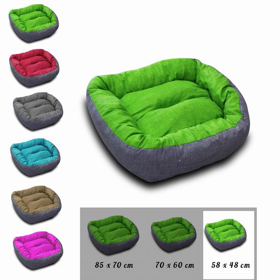 BED FOR DOG SIZE S 58 X 48 CM