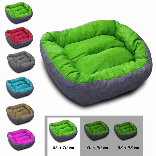 BED FOR DOG SIZE L 85 X 70 CM
